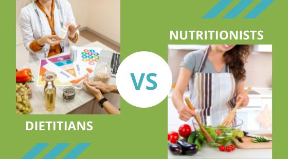 Dietitians Vs Nutritionists