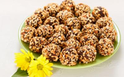 Hazelnut Cocoa Bites