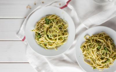 Grain-Free Mediterranean Mackerel Pasta