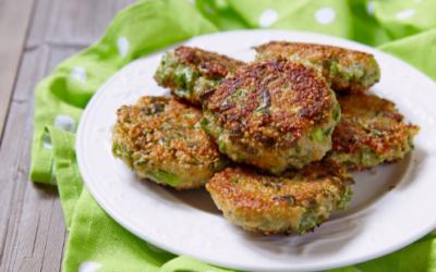 Quinoa Kale Fritters
