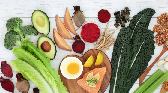 Detoxifying vegetables and fruits