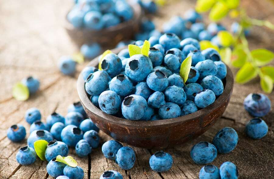 Top 5 Foods to Boost Brain Power Blueberries Koru Nutrition